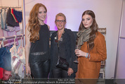 Humanic Lounge - Vienna Fashion Week - Mi 09.09.2015 - Barbara MEIER, Liane SEITZ32