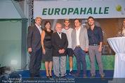 30 Jahresfeier - Europahalle - Fr 11.09.2015 - Gruppenfoto Familie SCHIFFER, Dominic THIEM245