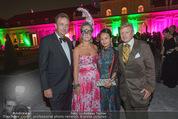Bal au Belvedere - Unteres Belvedere - Sa 12.09.2015 - Agnes HUSSLEIN, Karl HABSBURG, Albert HADWIGER, Heather SU105