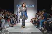 Vienna Fashion Week Finalshow - MQ Vienna Fashion Week Zelt - So 13.09.2015 - Modenschau Kenneth IZE79