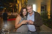 California Party - Melrose - Mi 16.09.2015 - Arthur WORSEG mit Ehefrau Kristina (erste Fotos mit Eheringen)74