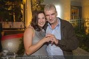 California Party - Melrose - Mi 16.09.2015 - Arthur WORSEG mit Ehefrau Kristina (erste Fotos mit Eheringen)75