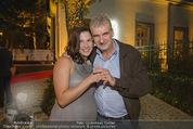 California Party - Melrose - Mi 16.09.2015 - Arthur WORSEG mit Ehefrau Kristina (erste Fotos mit Eheringen)76