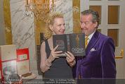 Die Öscars Buchpräsentation - Hotel Imperial - Mi 16.09.2015 - Christian REICHHOLD, Sunnyi MELLES1