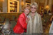 Die Öscars Buchpräsentation - Hotel Imperial - Mi 16.09.2015 - Guggi L�WINGER, Renate HOLM19