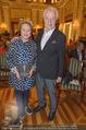 Die Öscars Buchpräsentation - Hotel Imperial - Mi 16.09.2015 - Harald und Ingeborg SERAFIN20