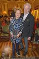 Die Öscars Buchpräsentation - Hotel Imperial - Mi 16.09.2015 - Harald und Ingeborg SERAFIN21