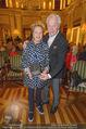 Die Öscars Buchpräsentation - Hotel Imperial - Mi 16.09.2015 - Harald und Ingeborg SERAFIN22