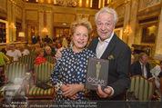 Die Öscars Buchpräsentation - Hotel Imperial - Mi 16.09.2015 - Harald und Ingeborg SERAFIN23