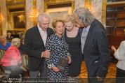 Die Öscars Buchpräsentation - Hotel Imperial - Mi 16.09.2015 - Harald und Ingeborg SERAFIN, Sunnyi MELLES, Erich SCHLEYER26