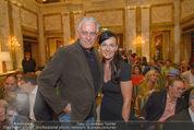 Die Öscars Buchpräsentation - Hotel Imperial - Mi 16.09.2015 - Klaus WILDBOLZ, Nadine VON V�HREN35