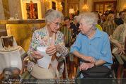 Die Öscars Buchpräsentation - Hotel Imperial - Mi 16.09.2015 - Lotte TOBISCH, Lotte INGRISCH40