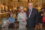 Die Öscars Buchpräsentation - Hotel Imperial - Mi 16.09.2015 - Lotte TOBISCH, Felix DVORAK42