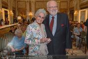 Die Öscars Buchpräsentation - Hotel Imperial - Mi 16.09.2015 - Lotte TOBISCH, Felix DVORAK43