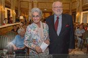 Die Öscars Buchpräsentation - Hotel Imperial - Mi 16.09.2015 - Lotte TOBISCH, Felix DVORAK45