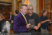 Die Öscars Buchpräsentation - Hotel Imperial - Mi 16.09.2015 - Christian REICHHOLD, Wolfram PIRCHNER48