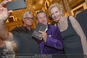 Die Öscars Buchpräsentation - Hotel Imperial - Mi 16.09.2015 - Wolfram PIRCHNER, Christian REICHHOLD, Sunnyi MELLES51
