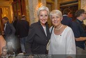 Die Öscars Buchpräsentation - Hotel Imperial - Mi 16.09.2015 - Gabriela RICKLI, Lisbeth BISCHOF56