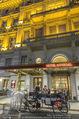 Die Öscars Buchpräsentation - Hotel Imperial - Mi 16.09.2015 - Hotel Imerial von au�en mit Fiaker61