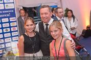 Starnacht Wachau - Wachau - Sa 19.09.2015 - Roland KAISER, Pr�ll-Enkelin Anna-Maria mit Freundin Verena19