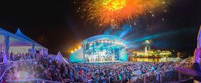 Starnacht Wachau - Wachau - Sa 19.09.2015 - Zuschauer, Publikum, B�hne, G�ste, �bersichtsfoto, Feuerwerk85