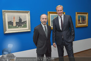 Edvard Munch Ausstellung - Albertina - Do 24.09.2015 - Klaus Albrecht SCHR�DER, Ben FRIJA2