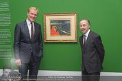 Edvard Munch Ausstellung - Albertina - Do 24.09.2015 - Klaus Albrecht SCHR�DER, Ben FRIJA5