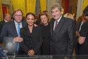 Edvard Munch Ausstellung - Albertina - Do 24.09.2015 - Willibald CERNKO, Jasminka STANCUL, G�nter RHOMBERG mit Ehefrau79