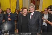 Edvard Munch Ausstellung - Albertina - Do 24.09.2015 - G�nter RHOMBERG mit Ehefrau81