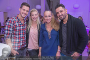 Fashion for Charity - Bestseller Headquarter - Do 24.09.2015 - Andreas MORAVEC mit Freundin TANJA, Ines und Fadi MERZA95