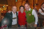 Almdudler Trachtenprächenball - Rathaus - Fr 25.09.2015 - Anton Toni SCHUTTI, Rainer SCH�NFELDER, Gerhard SCHILLING140