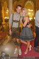Almdudler Trachtenprächenball - Rathaus - Fr 25.09.2015 - Nina PETER mit Freund Wolfgang PFLEGER242