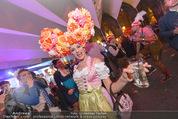 Almdudler Trachtenprächenball - Rathaus - Fr 25.09.2015 - Gast mit Blumen-Kopfschmuck331