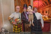 Almdudler Trachtenprächenball - Rathaus - Fr 25.09.2015 - Thomas KLEIN mit Klein Thomas Puppe, MASCHEK53