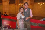 Almdudler Trachtenprächenball - Rathaus - Fr 25.09.2015 - Andrea BOCAN mit Ehemann Thomas64