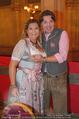 Almdudler Trachtenprächenball - Rathaus - Fr 25.09.2015 - Andrea BOCAN mit Ehemann Thomas67