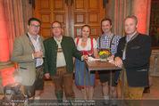 Almdudler Trachtenprächenball - Rathaus - Fr 25.09.2015 - 8