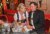 Almdudler Trachtenprächenball - Rathaus - Fr 25.09.2015 - Sabine MORD, Gerald LOHO85