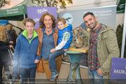 Milka - lila liebt grün - Palmenhaus - Fr 25.09.2015 - Maya HAKVOORT mit S�hnen Joshua und James, Fadi MERZA25
