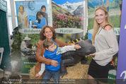 Milka - lila liebt grün - Palmenhaus - Fr 25.09.2015 - Maya HAKVOORT mit Sohn James, Patrizia KAISER62