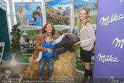 Milka - lila liebt grün - Palmenhaus - Fr 25.09.2015 - Maya HAKVOORT mit Sohn James, Patrizia KAISER64