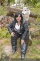Wolf Experience - Wolfsgehege Ernstbrunn - Mi 30.09.2015 - Patricia STANIEK mit W�lfen, Wolf2