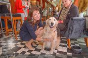 Wüstenrot Pressegespräch - Motto am Fluss - Di 06.10.2015 - Susanne RIESS mit Hund Niki11