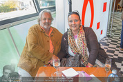 Wüstenrot Pressegespräch - Motto am Fluss - Di 06.10.2015 - Doris KIEFHABER mit Ehemann3