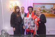 Flair de Parfum - Parkhotel Schönbrunn - Sa 10.10.2015 - Roberto BLANCO mit Ehefrau Luzandra, Manfred und Nelly BAUMANN20