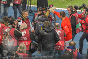 Österreich - Liechtenstein - Ernst Happel Stadion - Mo 12.10.2015 - Bierdusche f�r Marcel KOLLER109