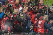 Österreich - Liechtenstein - Ernst Happel Stadion - Mo 12.10.2015 - Bierdusche f�r Marcel KOLLER112