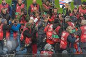 Österreich - Liechtenstein - Ernst Happel Stadion - Mo 12.10.2015 - Bierdusche f�r Marcel KOLLER114