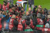 Österreich - Liechtenstein - Ernst Happel Stadion - Mo 12.10.2015 - Bierdusche f�r Marcel KOLLER115