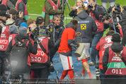 Österreich - Liechtenstein - Ernst Happel Stadion - Mo 12.10.2015 - Bierdusche f�r Marcel KOLLER118